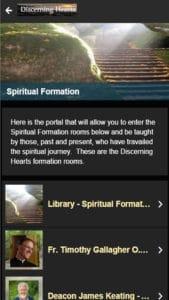 Discerning Hearts App Spiritual Formation